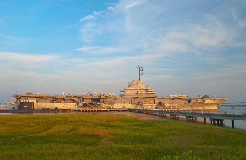 Patriots Point Naval Maritime Museum Charleston Harbor Sc