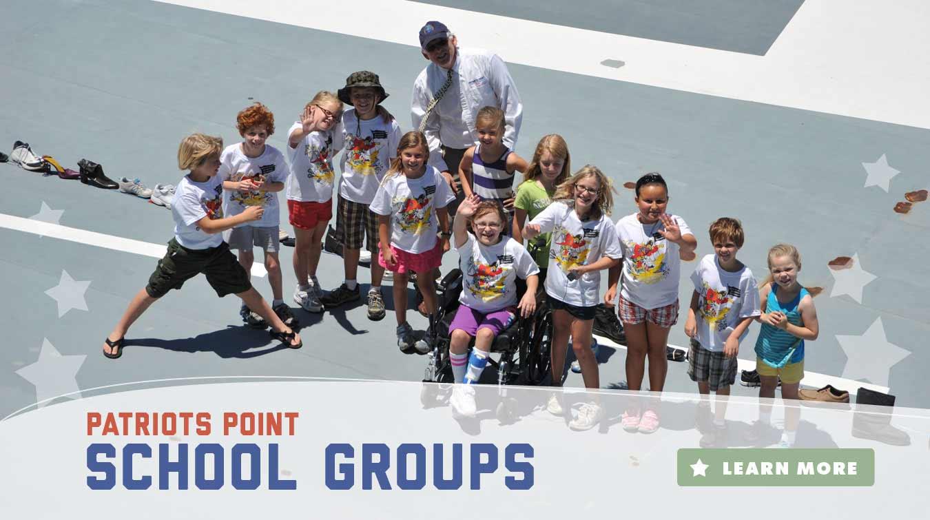 Patriots Point Naval & Maritime Museum - Charleston Harbor