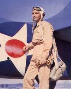 LT Butch O'Hare in 1942.