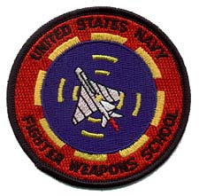 Navy Fighter Weapons School patch