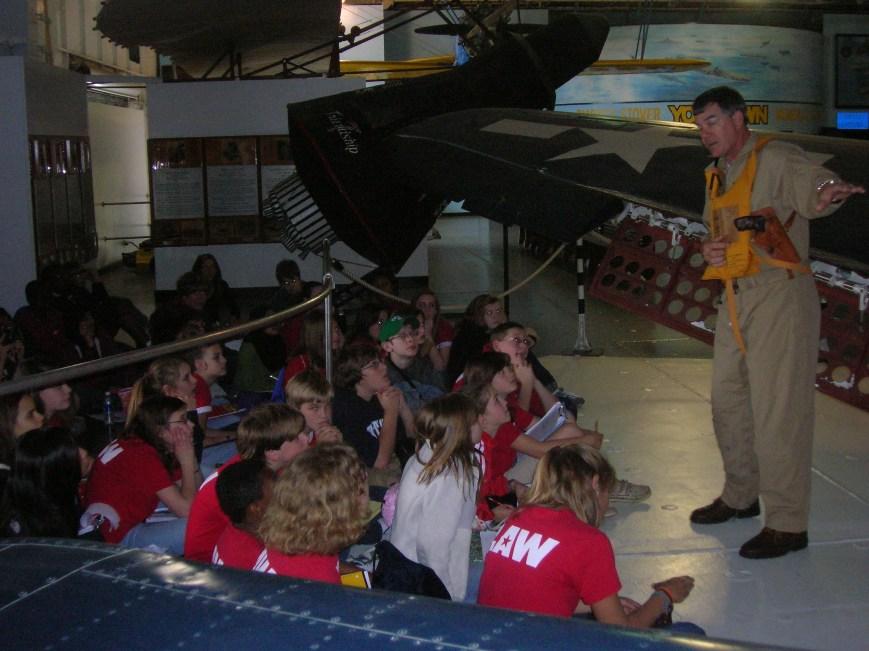 E. L. Wright technology visit - Patriots Point News & Events