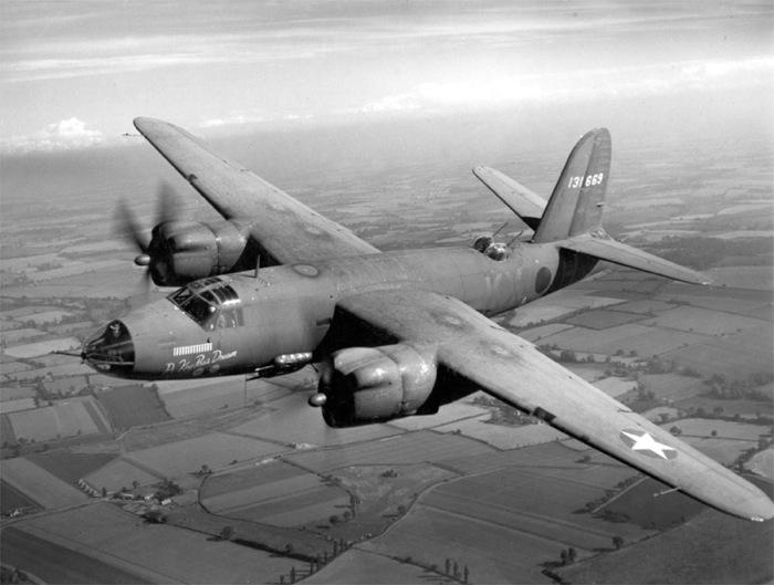 Martin B-26 Marauder aircraft