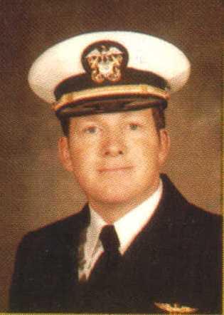 Lieutenant John Gore, VAW-126 Hawkeye pilot
