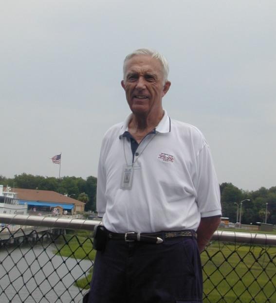 Patriots Point volunteer Lloyd Conard.