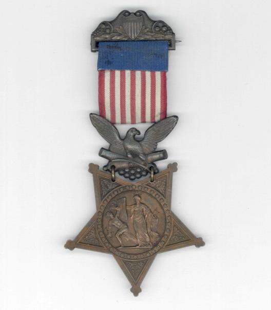 1863 medal of George Emmons.