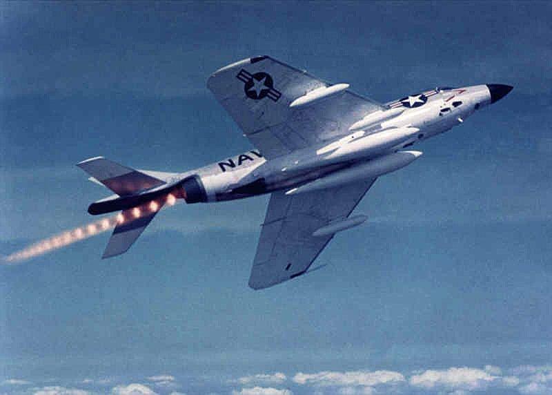 F3D Demon in afterburner.