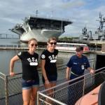 Olympians  Visit Patriots Point