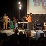 """Lonnie Hamilton and Ann Caldwell close the program with Duke Ellington's """"Take the A Train"""""""