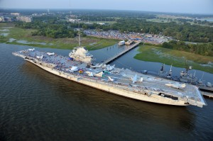 Patriots Point - Home of the USS Yorktown.<br /> 2012 4th of July Blast