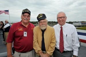 Opening New Exhibit - Mount 53, on the USS Laffey