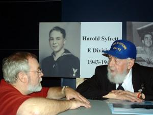 Chaplain Harold Syfrett