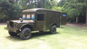 The Kaiser Jeep M725 was used in Vietnam from 1967-1969.