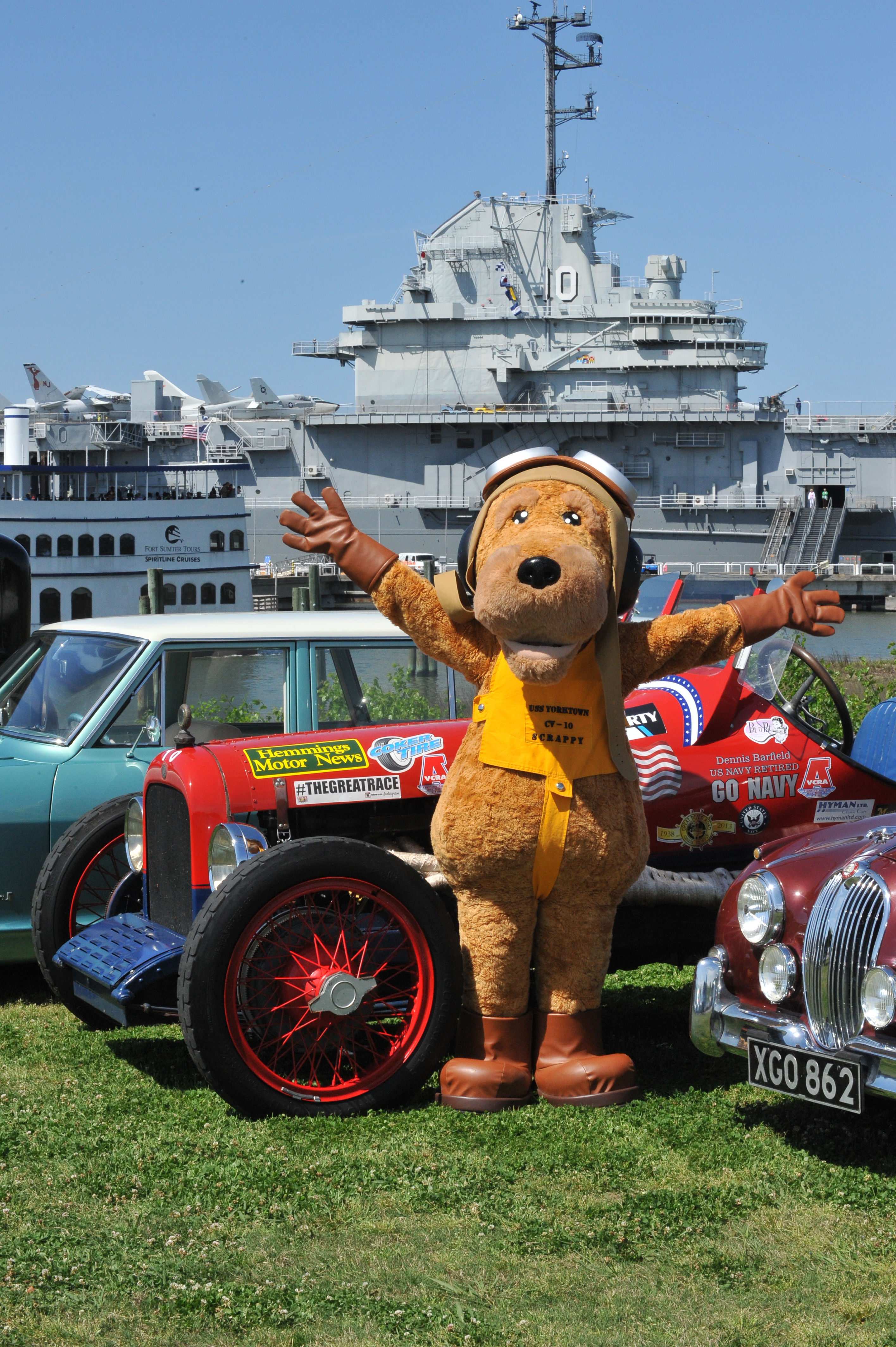 The 2014 Hemmings Motor News Great Race To Stop At Patriots Point ...