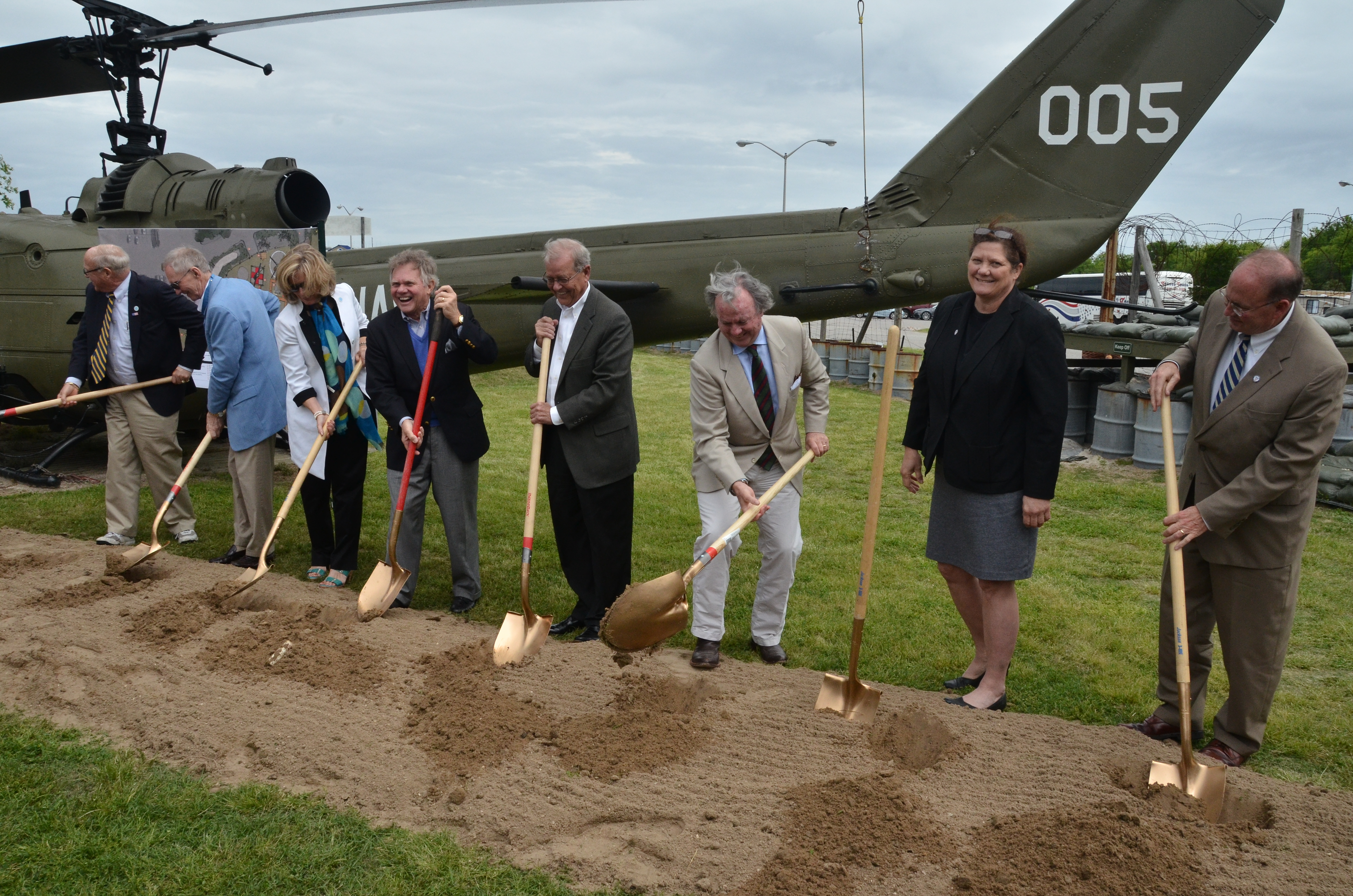 Vietnam Support Base New Ground Breaking for the redesigned VSB