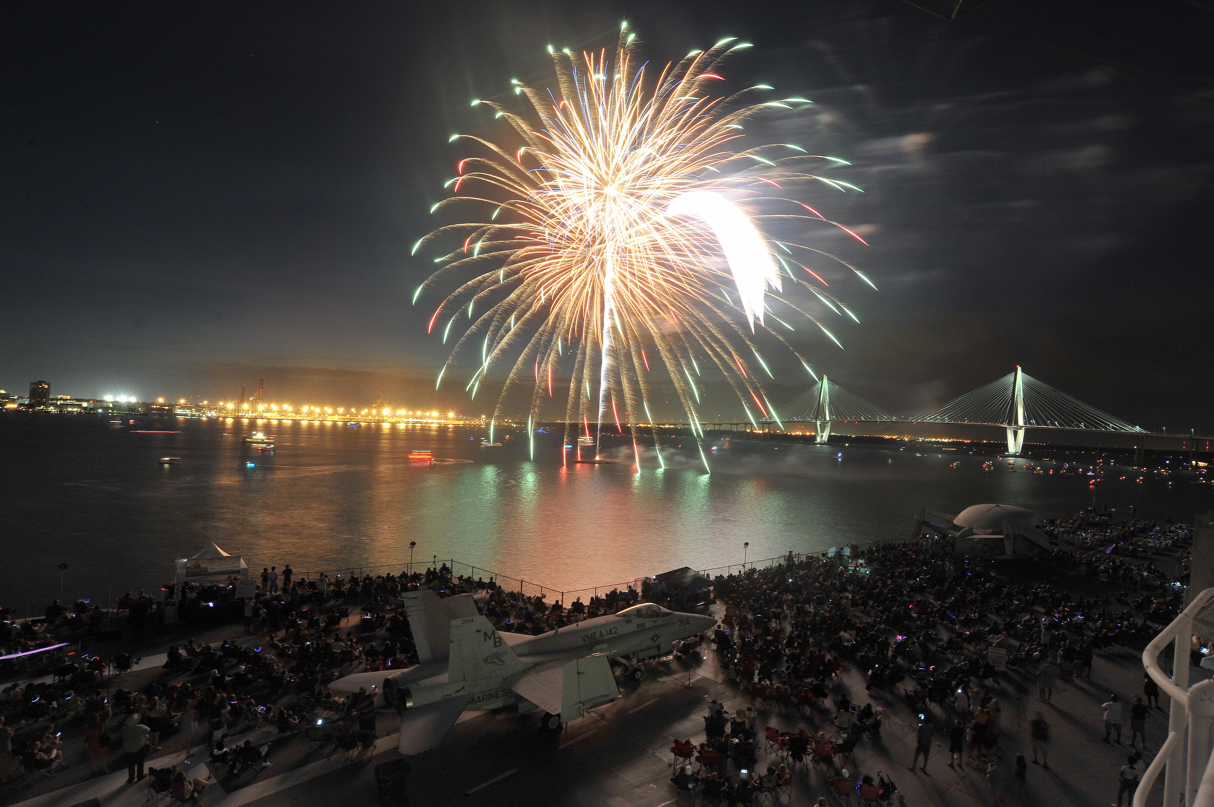 Fireworks Garden City Beach Sc
