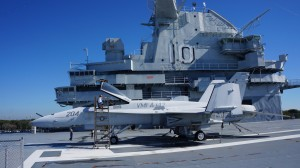 The F-18 Hornet will be one of several planes with an open cockpit