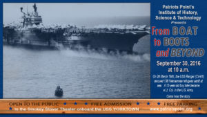 Hear the story of the 138 Vietnamese refugees rescued by the USS Ranger CV-61 in 1981 and how one of the rescued children pursued a career in the U.S. military