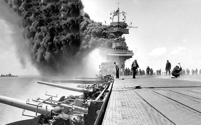Survivor of WWII's Battle of Midway to Share Memories on the 75th