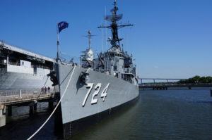 USS Laffey at Patriots Point